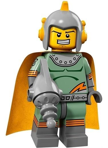 Lego Lego Minifigür - Seri 17 - 71018 - Retro Sşaceman Renkli
